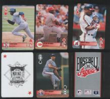 playing cards Non-standard Baseball aces 1995